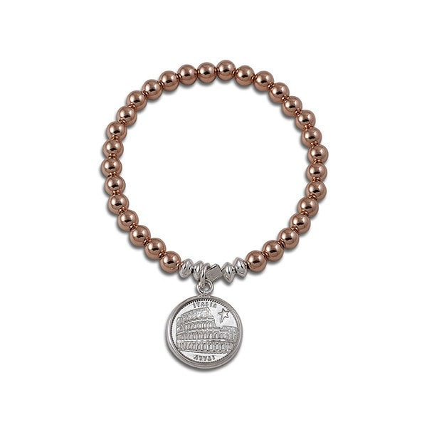 Von Treskow 6Mm Ball With Italian Coin Bracelet