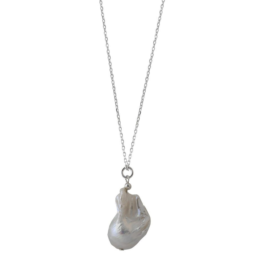 VON TRESKOW BAROQUE PEARL ADJUSTABLE NECKLACE