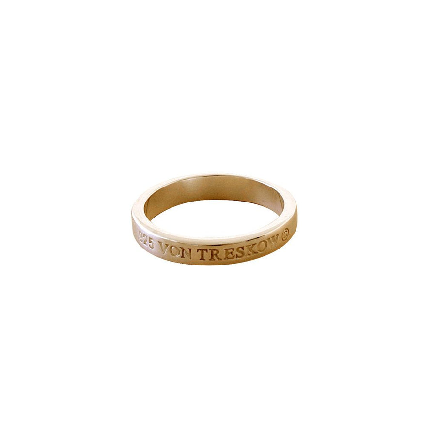 VON TRESKOW INSCRIBED RING