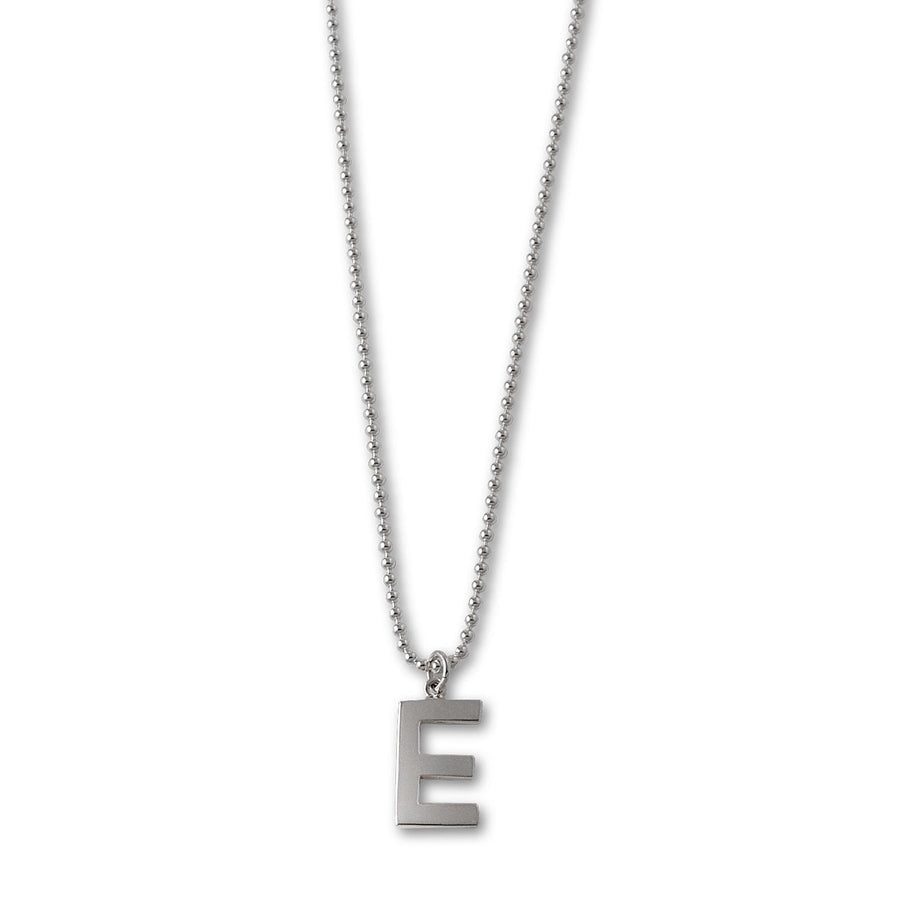 VON TRESKOW LARGE INITIAL NECKLACE (40CM)