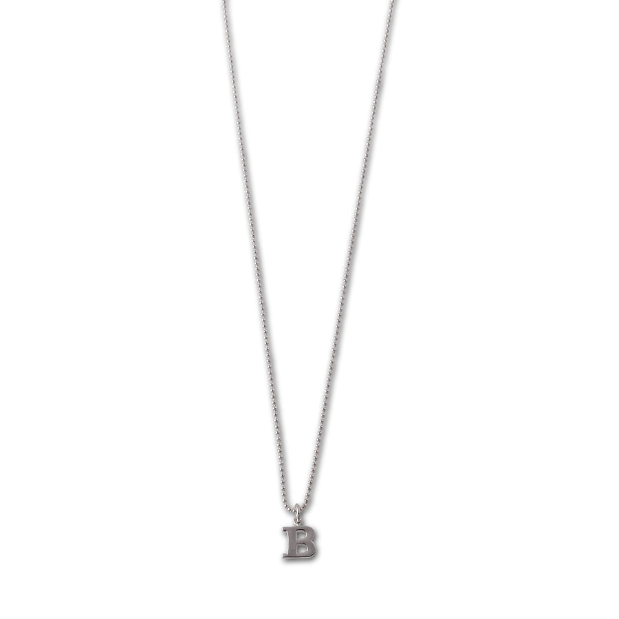 Von Treskow small initial necklace (40cm)