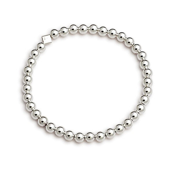 Von Treskow Simple Silver Ball Bracelet