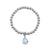 VON TRESKOW PEAR MOONSTONE BALL BRACELET