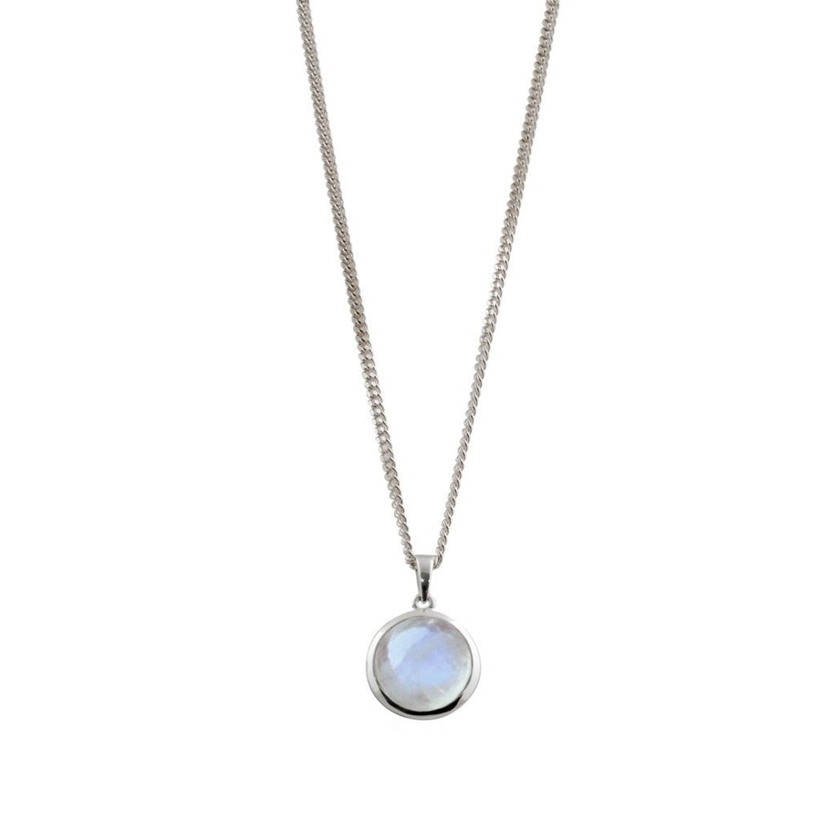VON TRESKOW ROUND MOONSTONE NECKLACE