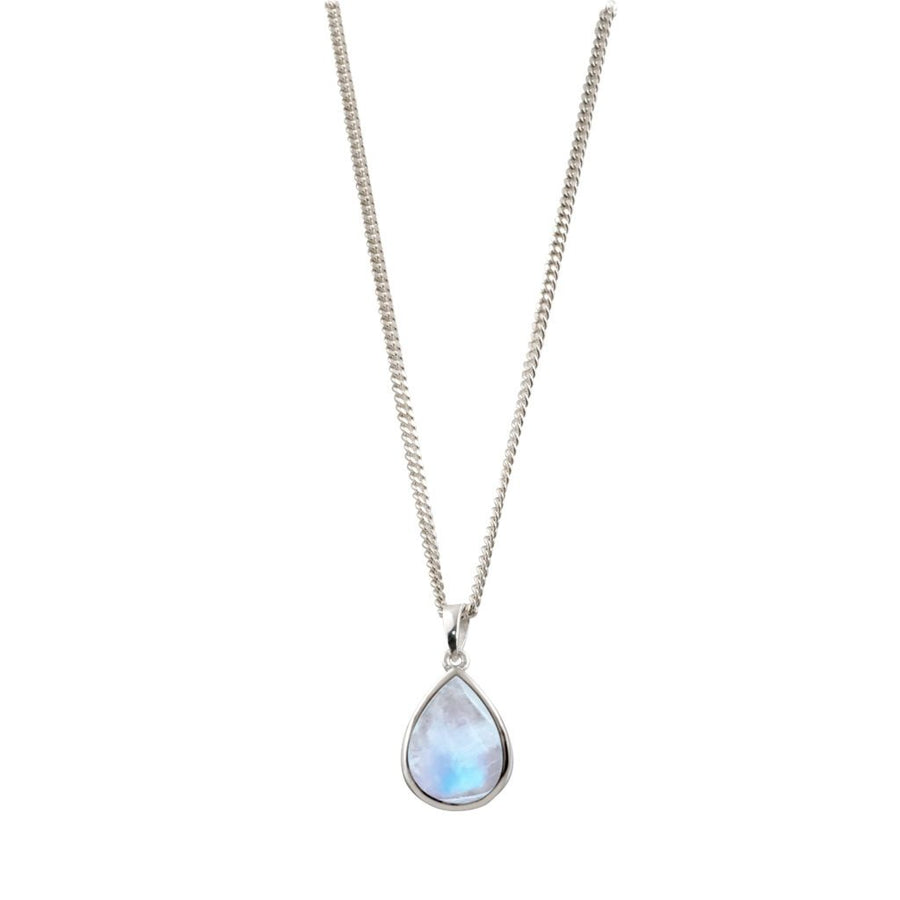 VON TRESKOW PEAR MOON STONE NECKLACE