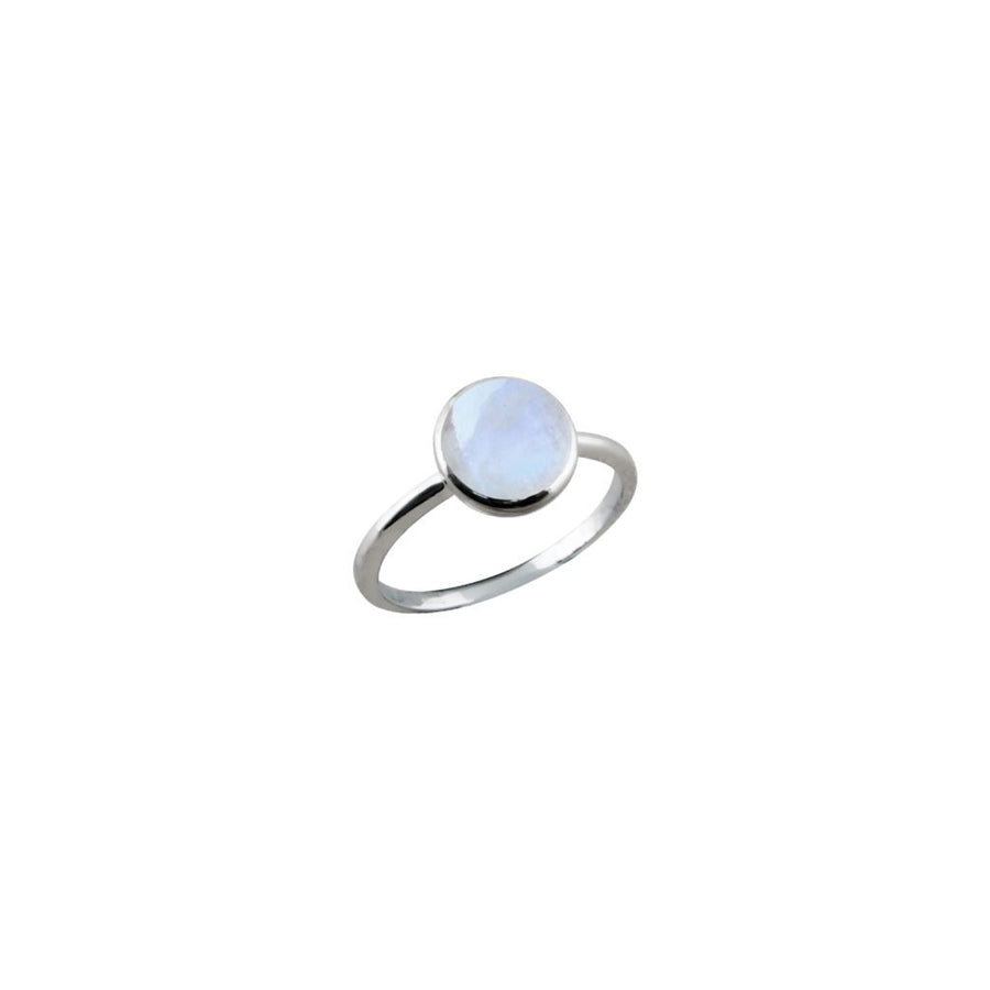 VON TRESKOW SMALL ROUND MOON RING