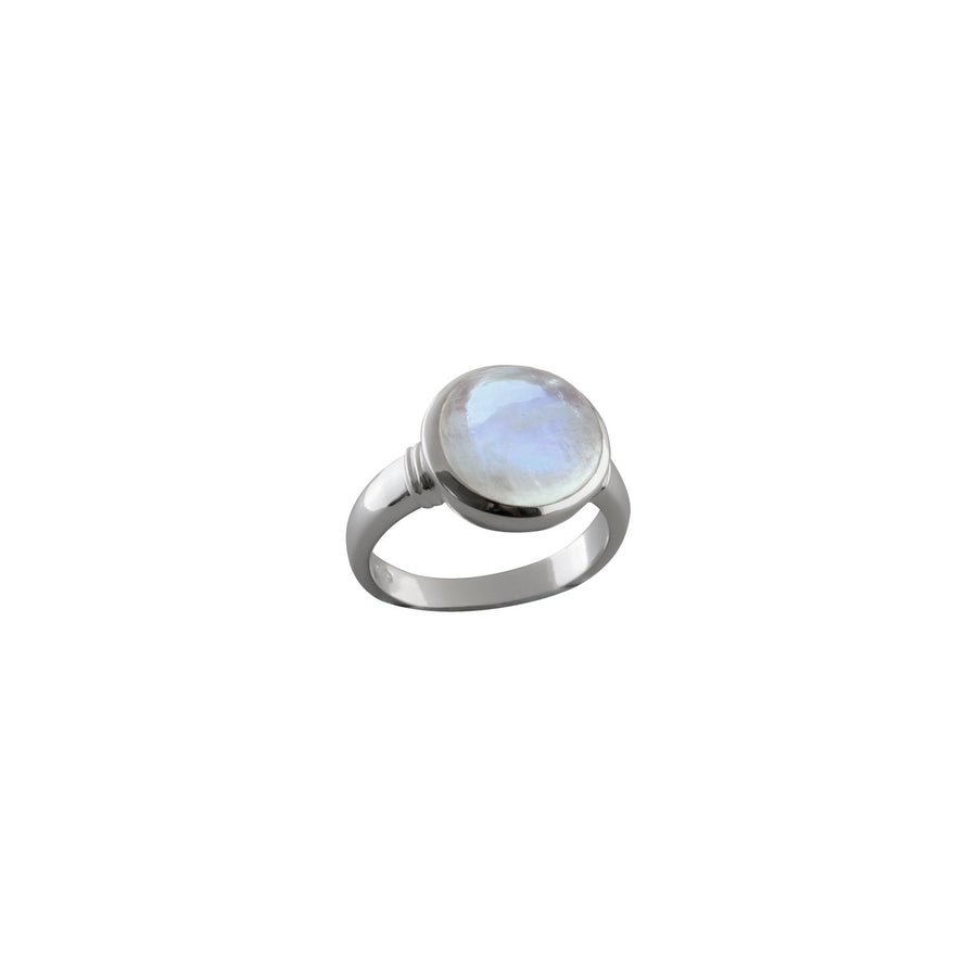 VON TRESKOW LARGE ROUND MOON RING