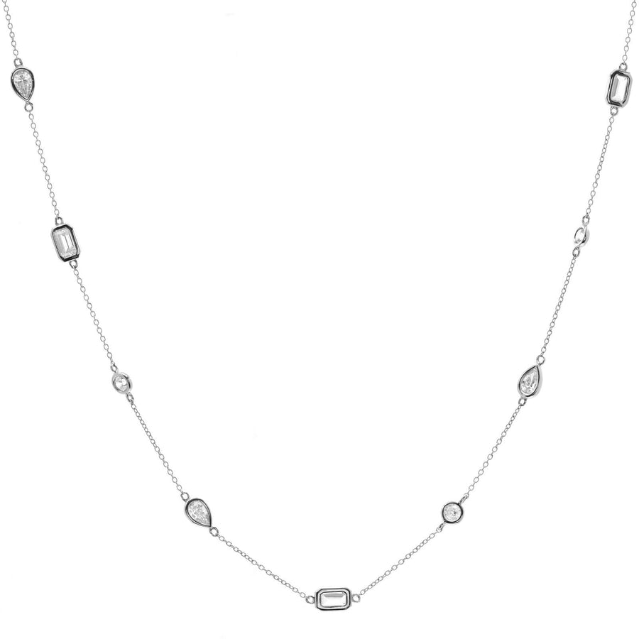 Sybella Multi shape necklace