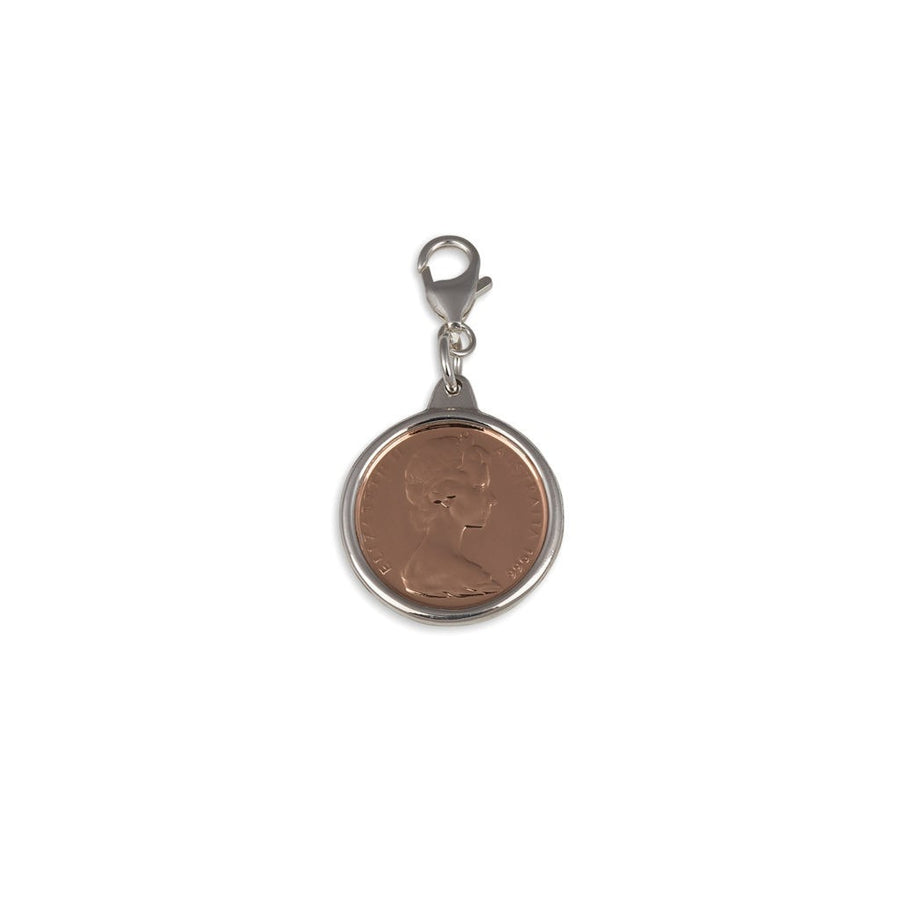 Von Treskow Two Cents Coin Charm