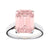 Sybella pink rectangle ring