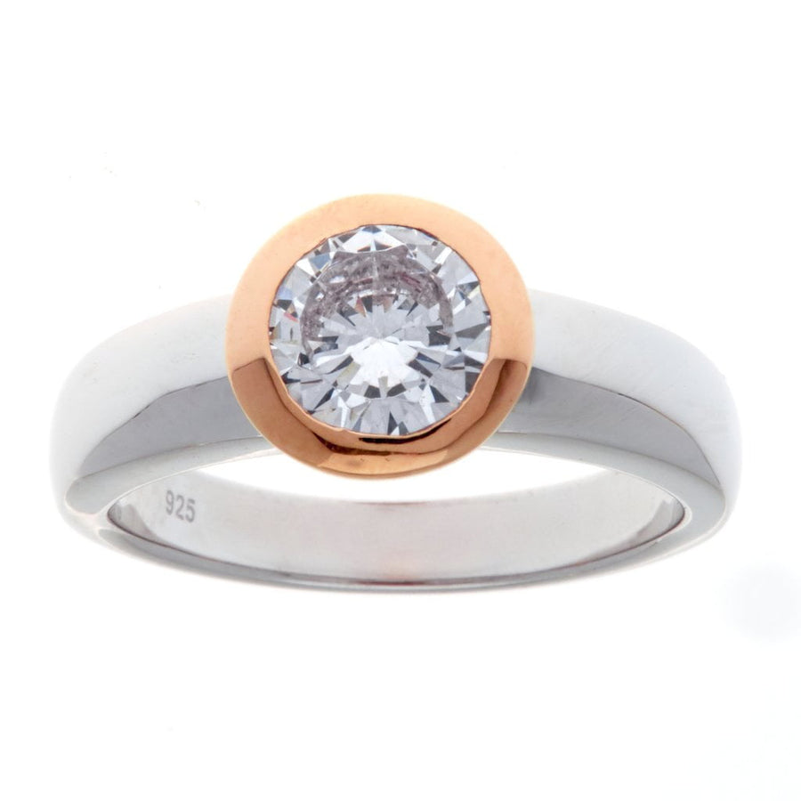 Sybella two tone ring