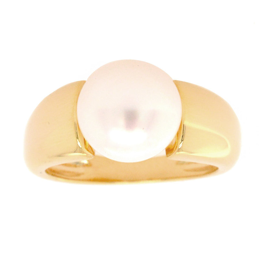 Sybella white freshwater pearl ring