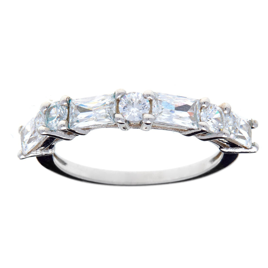 Sybella  baguette band ring