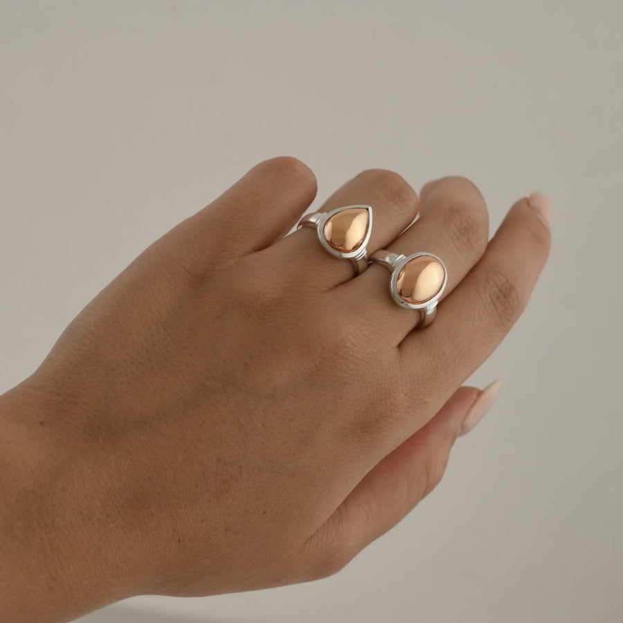 VONN TRESKOW PEAR RING
