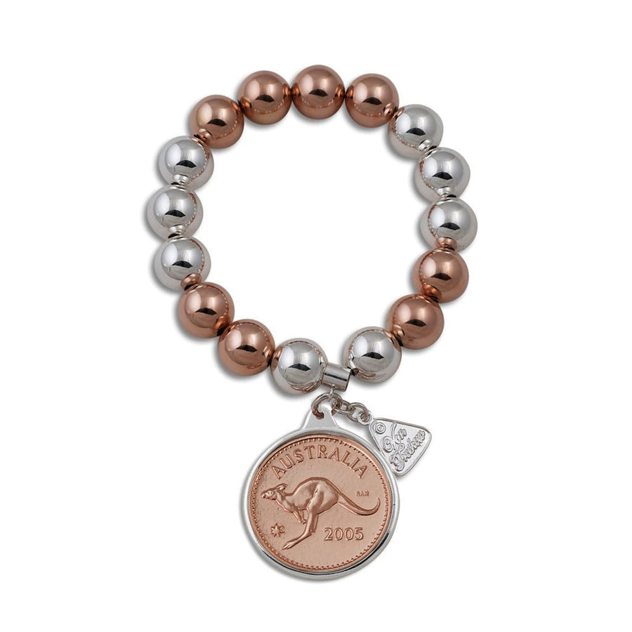 Personalised Year Penny Token Bracelet