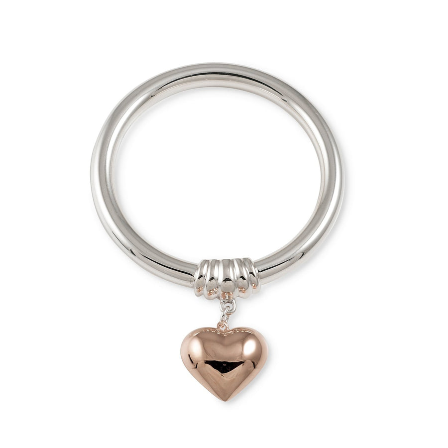 VON TRESKOW  ROSE HEART BANGLE