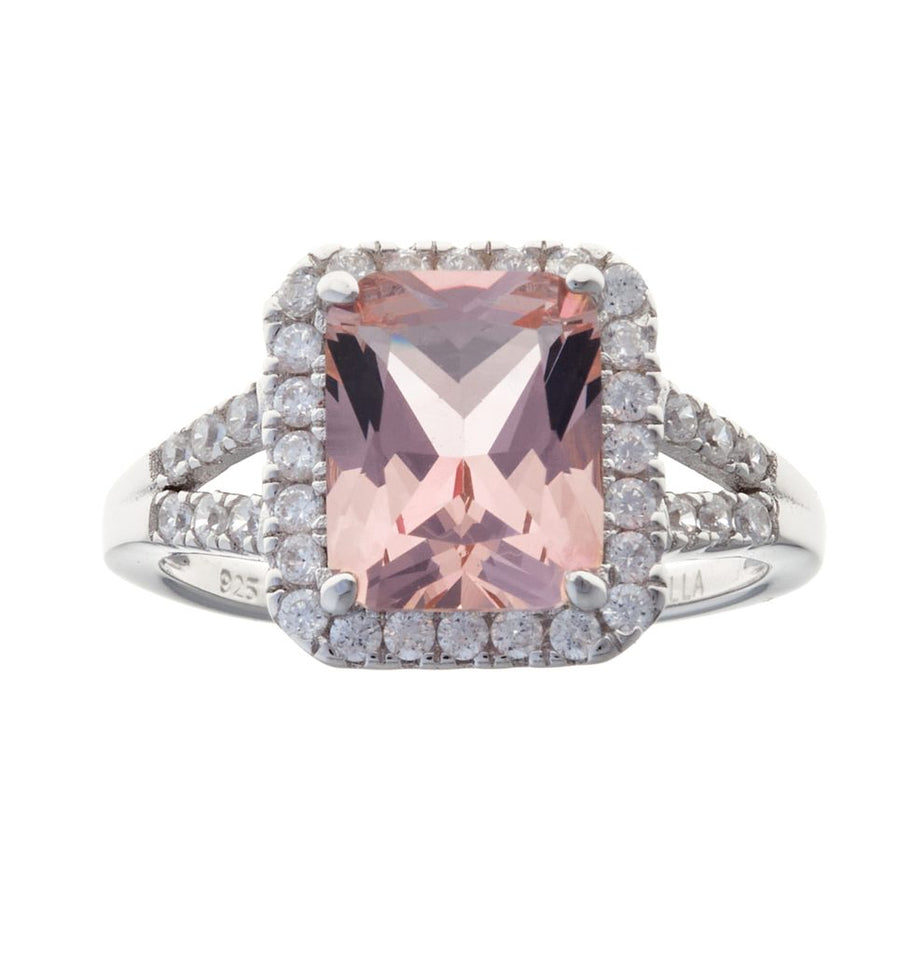Sybella Morganite dress ring
