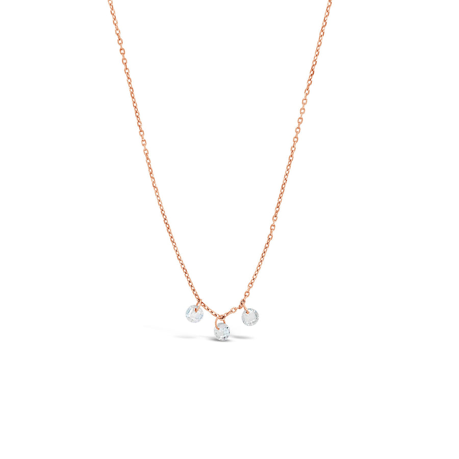 Duo the three Graces necklace