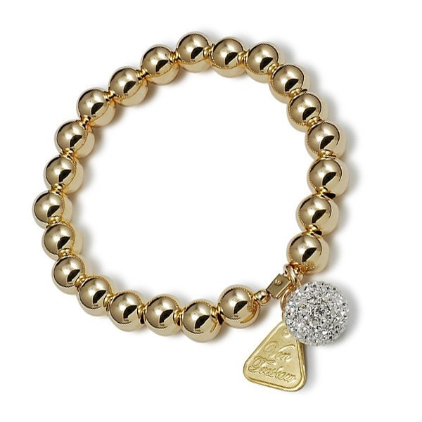 Von Treskow Gold And Disco Ball Bracelet