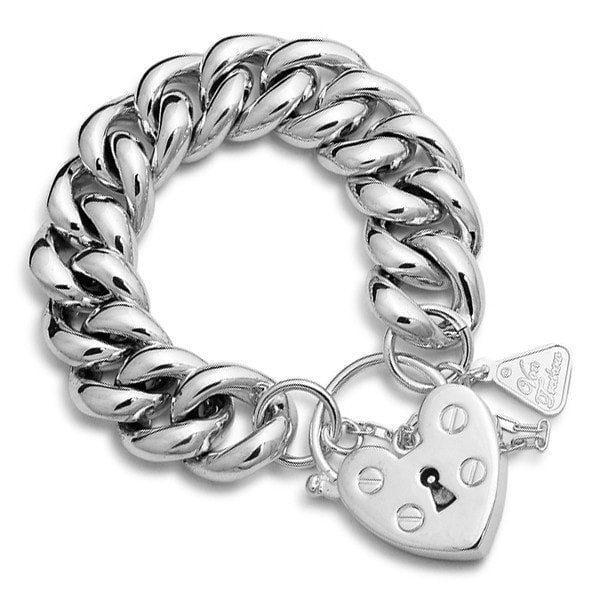 Von Treskow Heart Padlock On Big Mama Bracelet