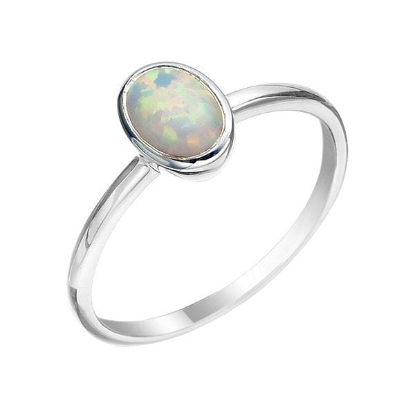 Von Treskow Oval Celline Opal Ring