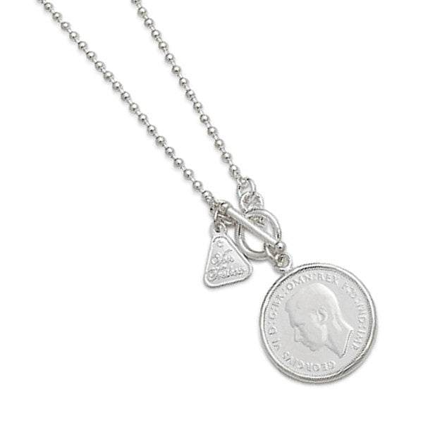 Von Treskow Florin Coin Wrap Around Necklace