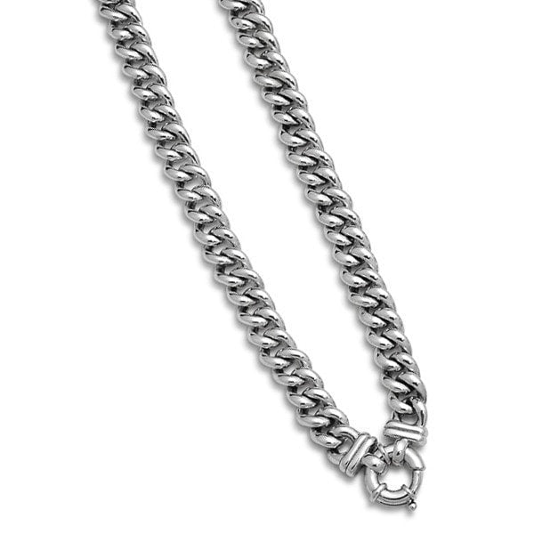 Von Treskow Classic Small Mama With Bolt Clasp Necklace