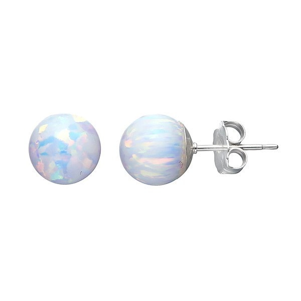 Von Treskow Celline Opal Ball Earrings