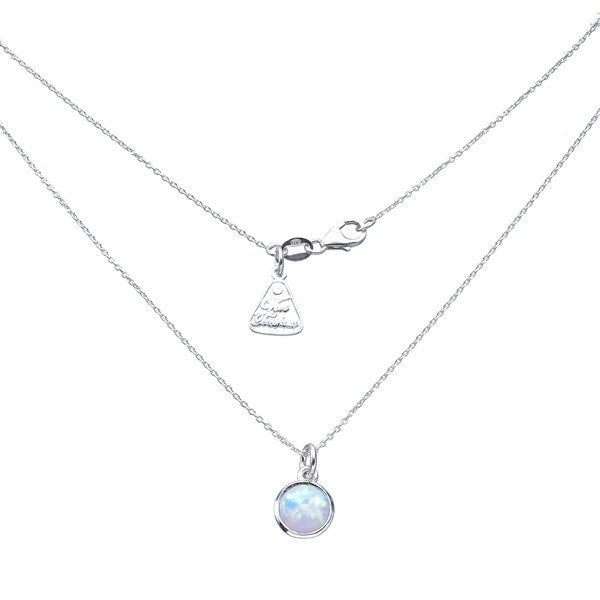 Von Treskow Round Celline Opal Necklace