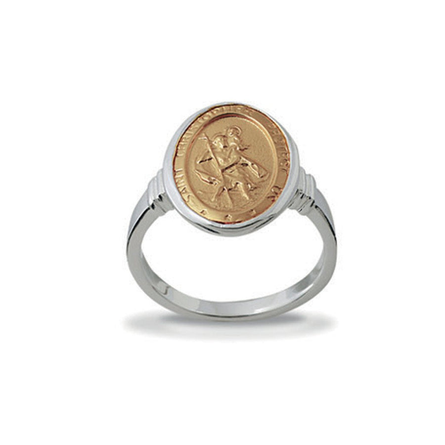 Von Treskow Saint Christopher ring