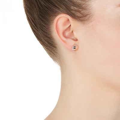 Najo Rosy Glimmer Stud Earring