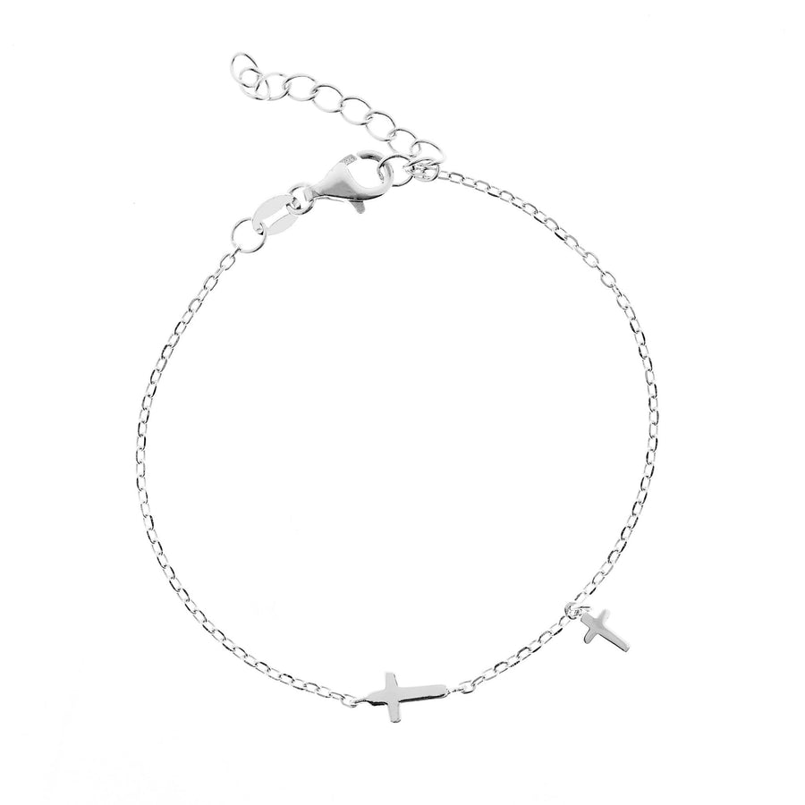 DUO CROSSES BRACELET