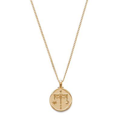 KIRSTIN ASH LIBRA ZODIAC NECKLACE