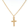 Duo Cross Necklace