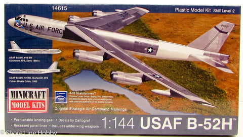 Minicraft 1/144 B-52 H USAF (Current Flying Version) MI14615
