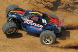 Traxxas Nitro Rustler: 1/10-Scale Nitro-Powered 2WD Stadium Truck with TQ 2.4GHz radio system (44094-1)
