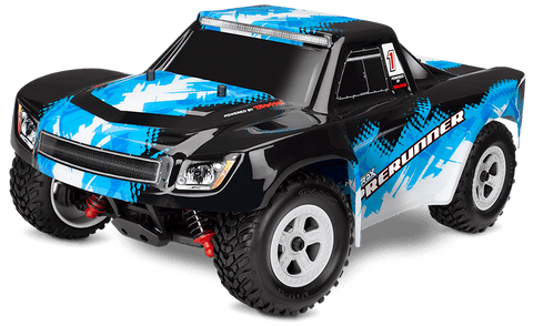 LaTrax Desert Prerunner 1/18 Scale 4WD Truck  Only available in blue and white.