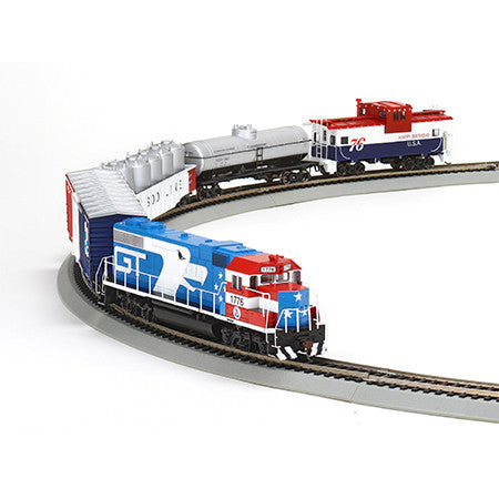 Athearn HO GP38-2 Iron Horse Train Set, GT/Bicentennial (29311)