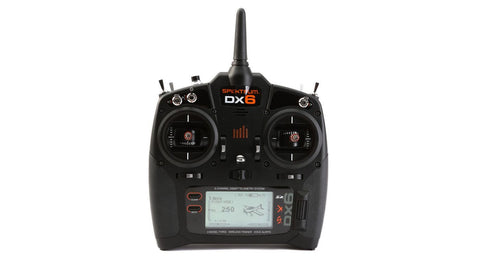 Spektrum DX6 6-Channel DSMX® Transmitter, Mode 2 with AR610 Receiver (SPM6750)