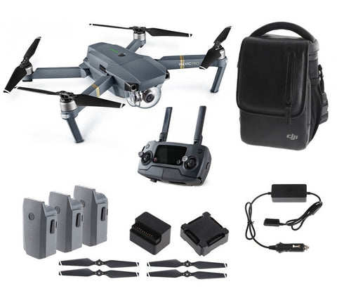 DJI Mavic Pro Ready to Fly folding quadcopter w/ 4K camera - Fly More Combo