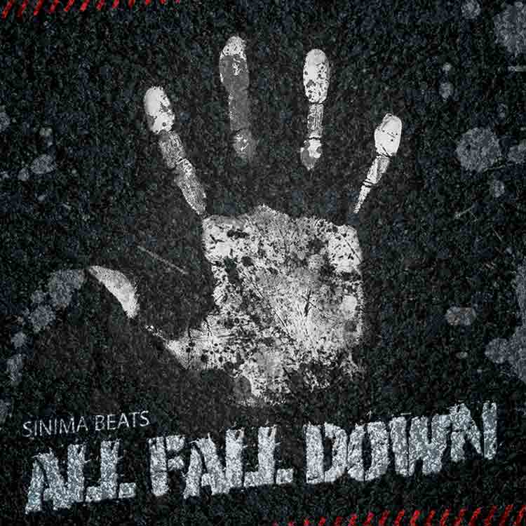 Sinima Beats - All Fall Down Instrumental (Hip Hop, Club, Eminem Style Rap Beat)