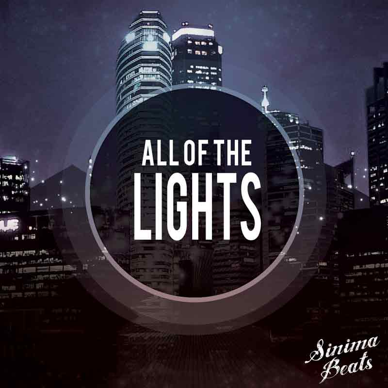 Sinima Beats - All of the Lights Instrumental (Hip Hop Pop Smooth Rap Beat | Eminem Style Not Afraid Beat Instrumental Rapping Rapper)