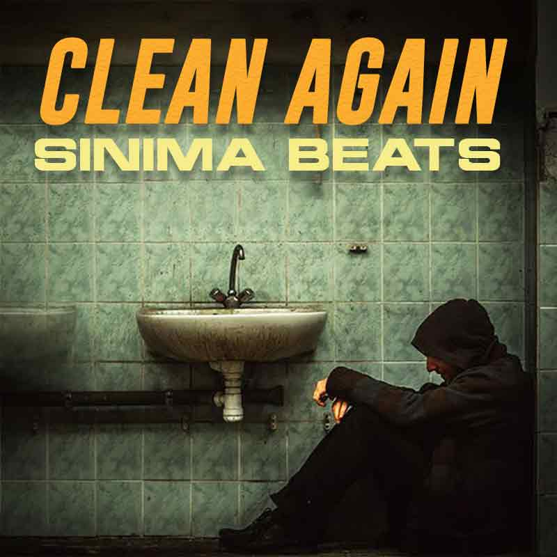 Sinima Beats - Clean Again Instrumental (Sad Storytelling Hop Hop Beat | Piano Ambient Beat for Rappers)