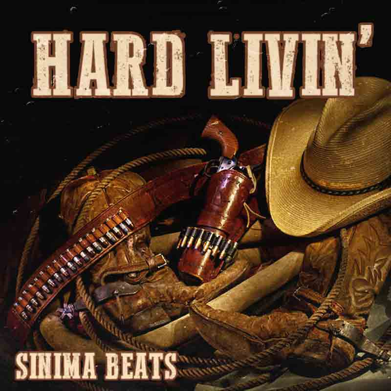 Sinima Beats - Hard Livin' Instrumental (Country Rap | Hick Hop Music Records Beats)