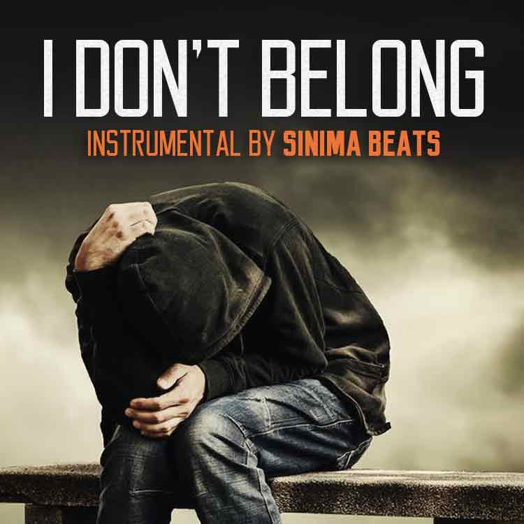 Sinima Beats - I Don't Belong Instrumental (Rap Music Album Hip Hop)