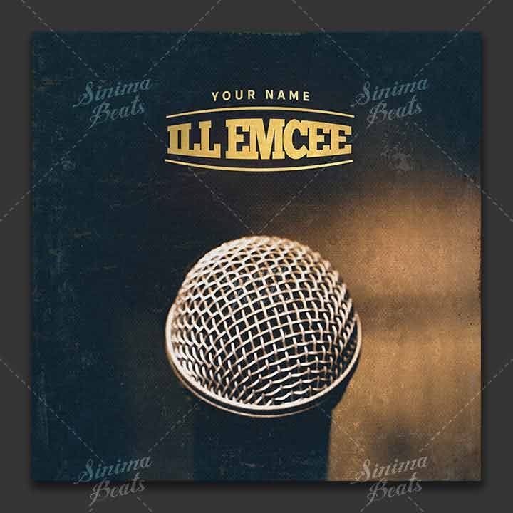 Music Cover Art Design - Ill Emcee by Sinima Beats