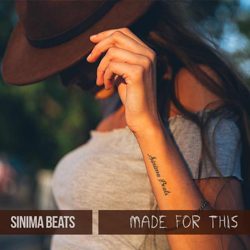 Sinima Beats - Made for This Instrumental (Trap Beat Guitar Rap Instrumentals Beat)
