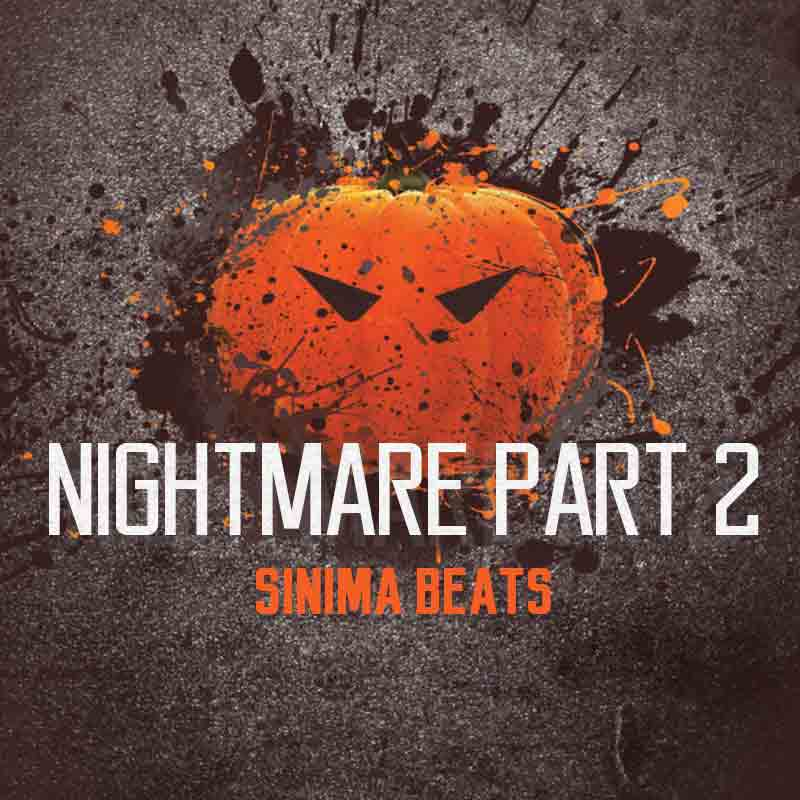 Sinima Beats - Nightmare Part 2 Instrumental (Fast Rapping Eminem Style Rap Beat)