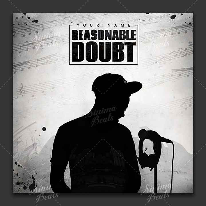 Music Cover Art Design - Reasonable Doubt by Sinima Beats