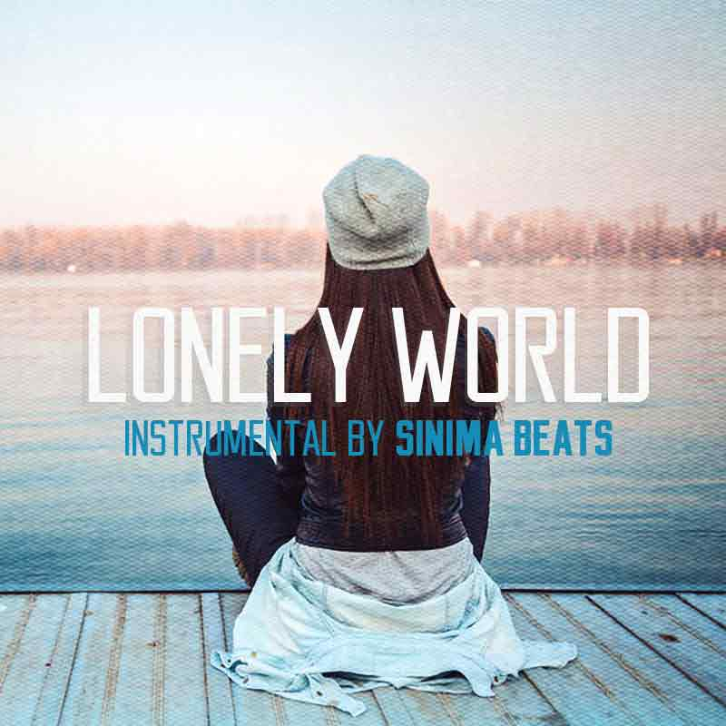 Sinima Beats - Lonely World Instrumental with Hook (Beats with Hooks, Hip Hop, Pop, Top 40, Rap Beats) Beats with Hooks Beat with Hook Instrumentals Lease Premium Unlimited License Rap